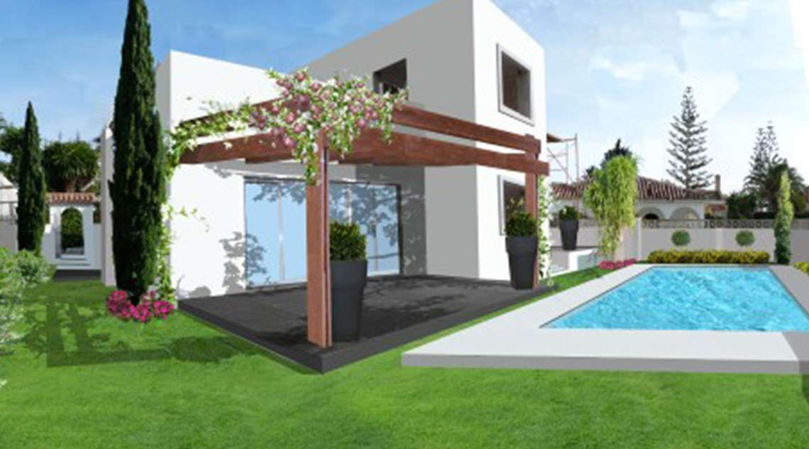 Landscaping project for Las Chapas
