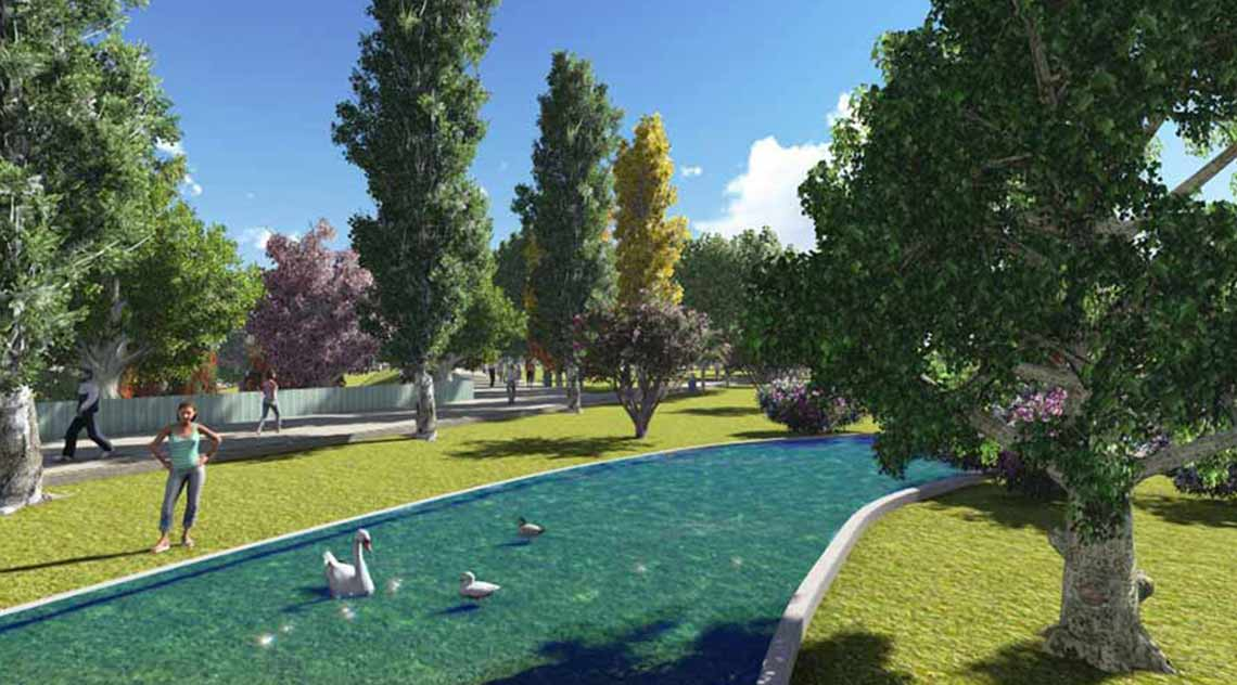 Landscaping project for Riberas del Genil