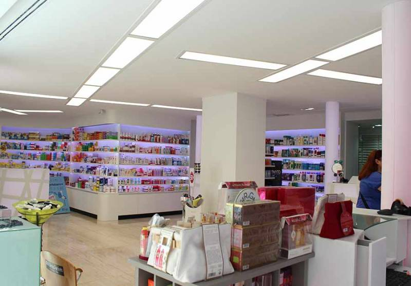 Architecture project in Marbella - Pharmacy