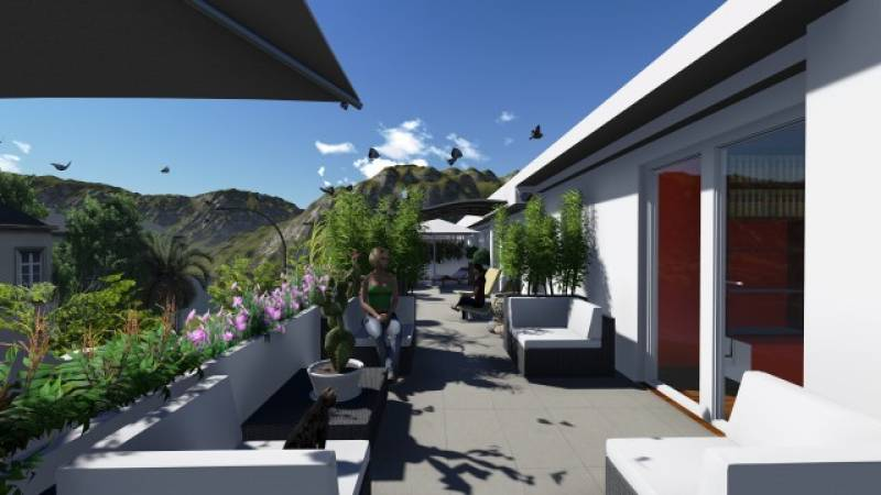Landscaping project in Marbella - Terrace