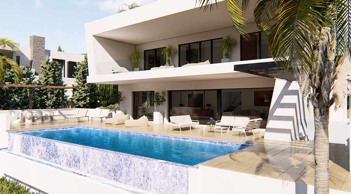 Architecture project for Villa in San Pedro
